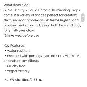 Sephora Makeup - Suva Liquid Chrome Illuminating Drop In Trust Fund